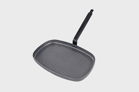 De Buyer Carbone Plus Eisenstahl Grillpfanne